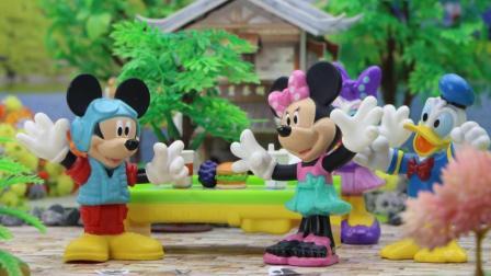 米奇妙妙屋的聚会上, 大家吃了神奇的糖果, 消失了!