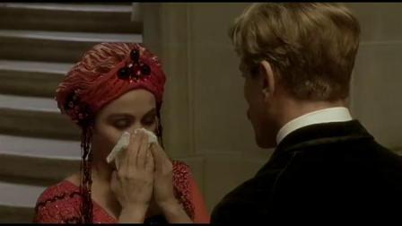 《追忆似水年华》  穿一袭华美红色长裙下楼分外惊艳