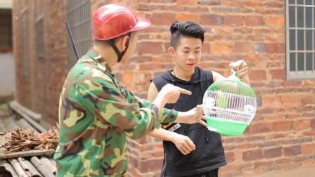 闽南语搞笑视频: 抓鸟小伙喜获八哥, 意外得知老
