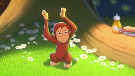 《好奇的乔治》  被顽皮小猴子缠上 泰德寻神像失败