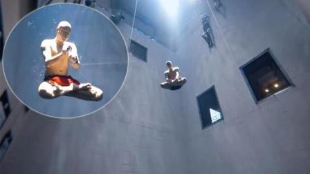 潜水大师打坐无氧深潜33米 靠运动对抗关节炎病痛