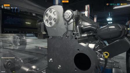 汽车修理工模拟: 开始拆汽车的引擎, 看看它的构造
