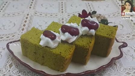 美味的海绵抹茶蛋糕简单做法