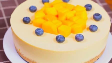 【免烤箱蛋糕】零失敗芒果慕斯蛋糕