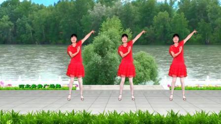 广场舞《阿哥阿妹跳起来》民族歌曲, 轻盈欢快, 跳出健康舞出美丽