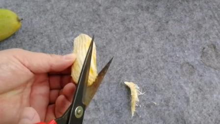 天天吃芒果, 你知道芒果核打开以后什么样的吗?