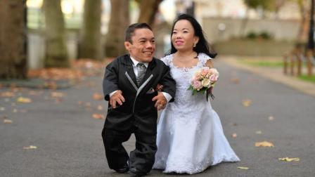 世界上最矮的夫妻: 2个人加起来还没1.6米!