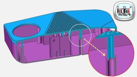 冰盒子之自动化创建司柱司筒演示