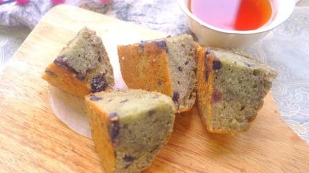 用一个鸡蛋, 无需打发就能做出蓬松的蓝莓蛋糕, 新手也能做