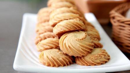 小猪佩奇的最爱——曲奇饼干, 学会做了, 不用给孩子们买零食了, 不爱吃甜食的家人也喜欢吃