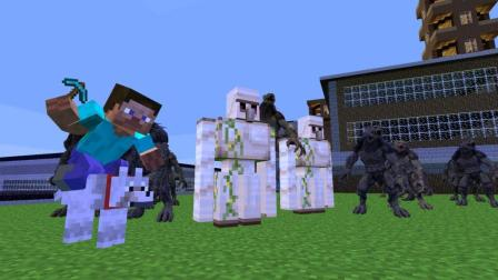 GMOD游戏铁傀儡能保护好村子吗?