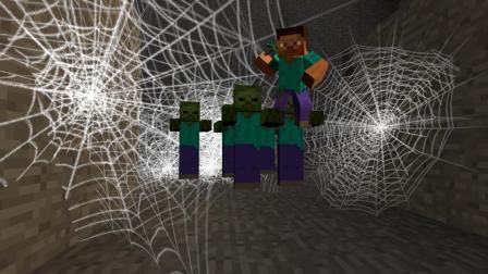 GMOD游戏蜘蛛网能网僵尸吗