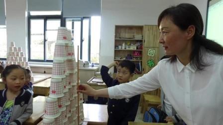 南京 银城小学  纸杯叠叠乐