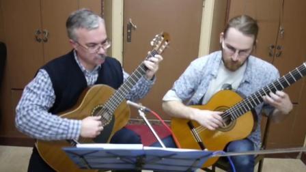 古典吉他二重奏, 宫崎骏动画电影《千与千寻》片尾曲, 听一次就会爱上的曲子