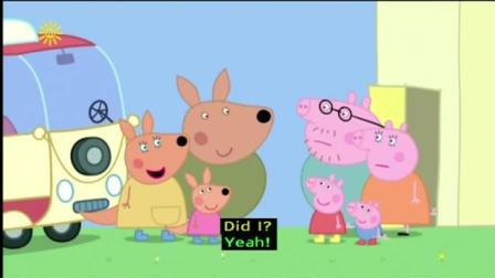 加舟英语小猪佩奇第4季英文字幕Peppa Pig Series 4 Kylie Kangaroo