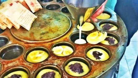 正宗红豆饼的做法, 一元一个, 买的人排起长队!