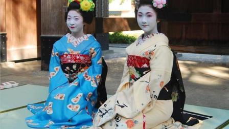 日本传统艺伎的妆容 化完之后 让你眼前一亮
