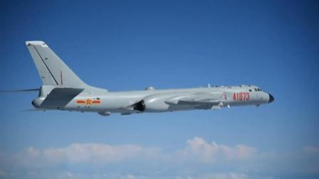 威武! 战神轰-6K首次在南部海域开展岛礁起降训练