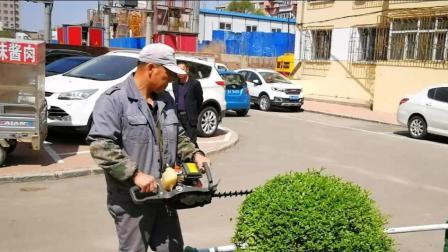 中润物业绿化工人的一天
