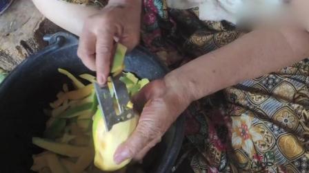 看看柬埔寨人怎么做芒果干, 绝对真材实料, 纯天然食品