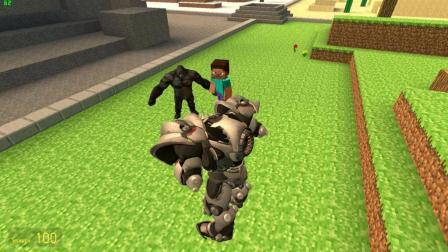 GMOD游戏远古大猩猩VS战争机器人