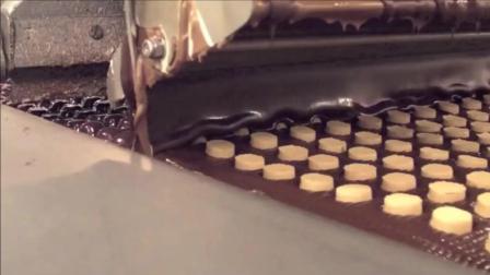 镜面巧克力蛋糕和圆曲奇.解密工厂制作