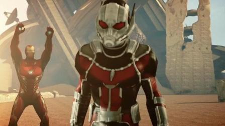 预告《复联4》灭霸被吊打系列第一段, 蚁人独战灭霸! 做了三段喜欢大家喜欢!