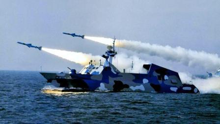 伊朗再获强援!中国百艘战舰现身波斯湾!