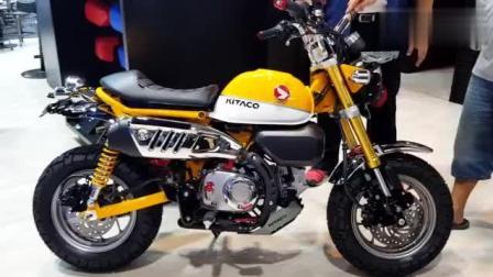 霸气! 2018新款本田猴子125排量小型摩托车