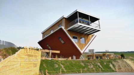 德国这家特殊的咖啡馆, 人能在天花板上走路, 一开业人气爆棚