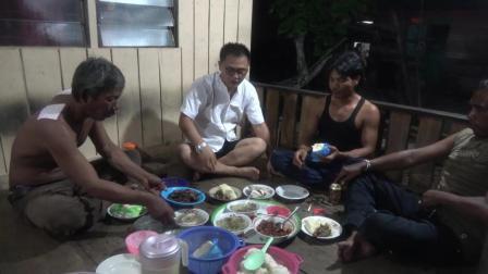 《这就是旅行》博山在东南亚与巴瑶族共进晚餐