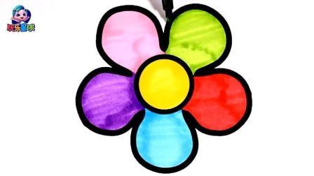绘画美丽的花朵 简笔画教学收藏