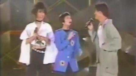 刘德华与叶倩文合唱《无言的结局》视频虽老, 青涩的年代再也找不回