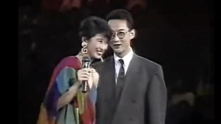 叶倩文演唱会, 请上观众席上的李茂山, 合唱《无言的结局》美好的回忆耐人回味!