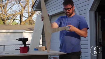 普通胶合板也能做出这么别致的椅子, 很多人都没想到的好创意