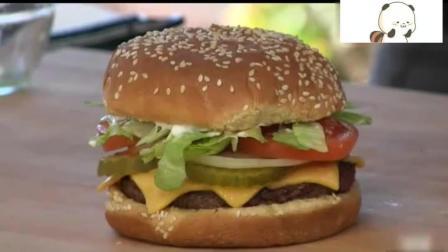外国美食, 牛排芝士汉堡食谱! 原来是这样做的, 我一直没做出来