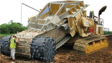 这些超大型工程机械设备作业技能超霸气! 服了