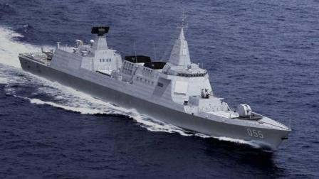 继国产航母海试后, 中国又一艘万吨巨舰将出海, 火力亚洲第一
