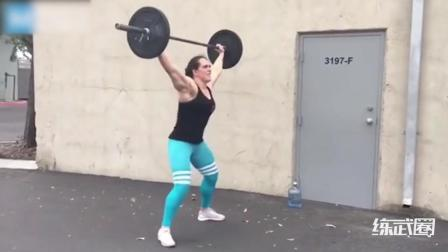 1米88的女拳手, 这体型简直比男人还健壮!
