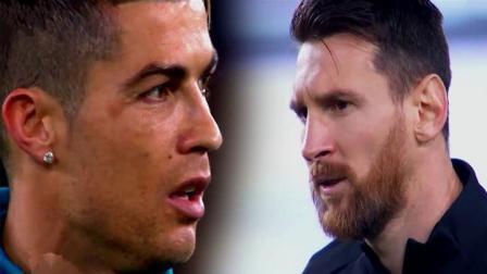 梅西与C罗最近一年进球过人对比, 差距已经开始显现