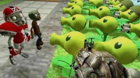 植物大战僵尸动画版 僵尸大战植物动画片后花园战争 你没玩过的植物大战僵尸27