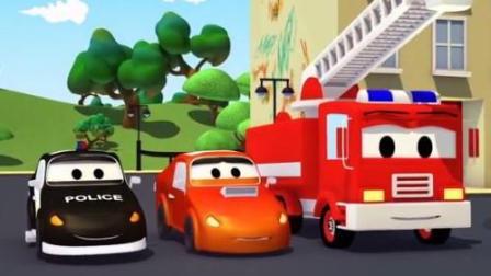 汽车总动员之巡逻车: 抓捕汽车城的破坏者赛车杰瑞