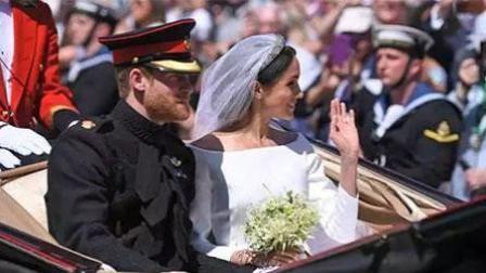 哈里大婚 百岁老太苦等18小时这样说新娘