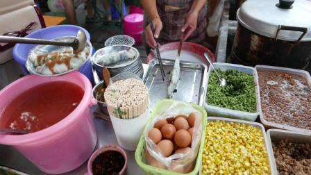 广东肠粉或许太清淡了, 于是就有了肠粉入乡随俗的重口味做法