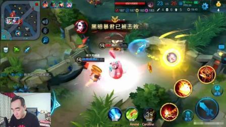王者荣耀: 开局比分就0-10, 看曹操怎么带领队友走向胜利!