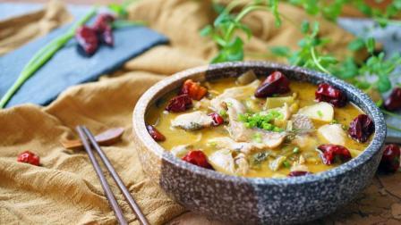 夏天闷热没食欲, 来个酸辣适中的酸菜鱼, 开开胃可好?