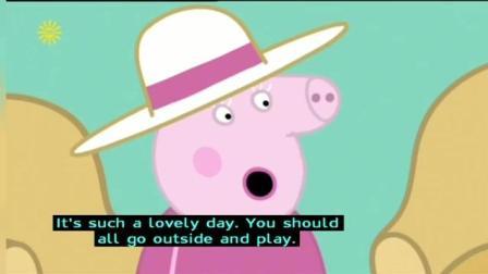 Peppa Pig Series 4 Georges Racing Car 加舟英语小猪佩奇第4季英文字幕