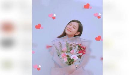 陈晓送的? 陈妍希520晒捧花照暗秀恩爱: 有人送我神秘的花花