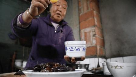 陕西农村老人自制的凉皮, 简单方便, 大夏天一口气能吃好几碗!