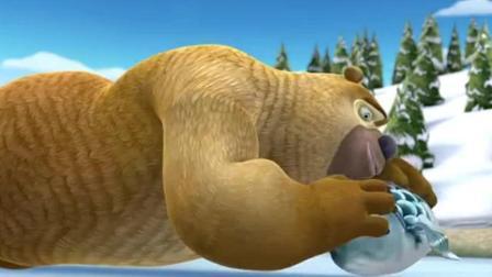 熊出没: 熊二居然还有这项技能, 真是太有才了
